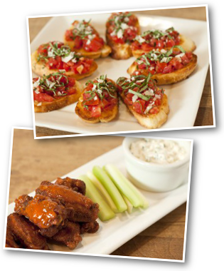Lou Malnati's Bruschetta & Wings