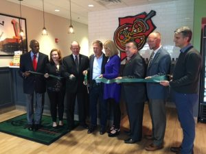 Lou Malnati's Flossmoor Ribbon Cutting