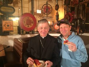 Archbishop Cupich and Marc Malnati