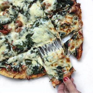 Lou Malnati's Spinach Pizza