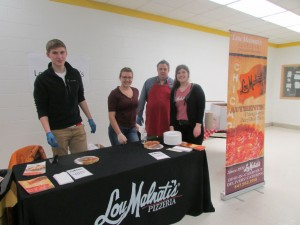 Lou Malnati's at the Hinsdale South High School Pizza Palooza