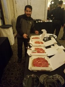 Lou Malnati's at Casino Night