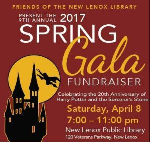Annual Spring Gala and Fundraiser at the New Lenox Library